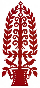 perspex hanger rood